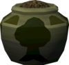 Plain woodcutting urn (full) detail
