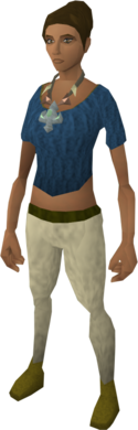Arcane pulse necklace equipped