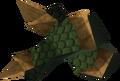 Blessed dragonhide vambraces (Bandos) detail.png
