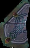 Broken shield (Dimension of Disaster, east) detail
