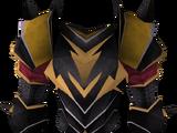 Elite black platebody