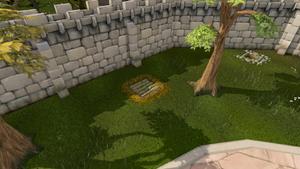 Hidden trapdoor