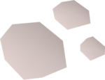 Human ashes detail