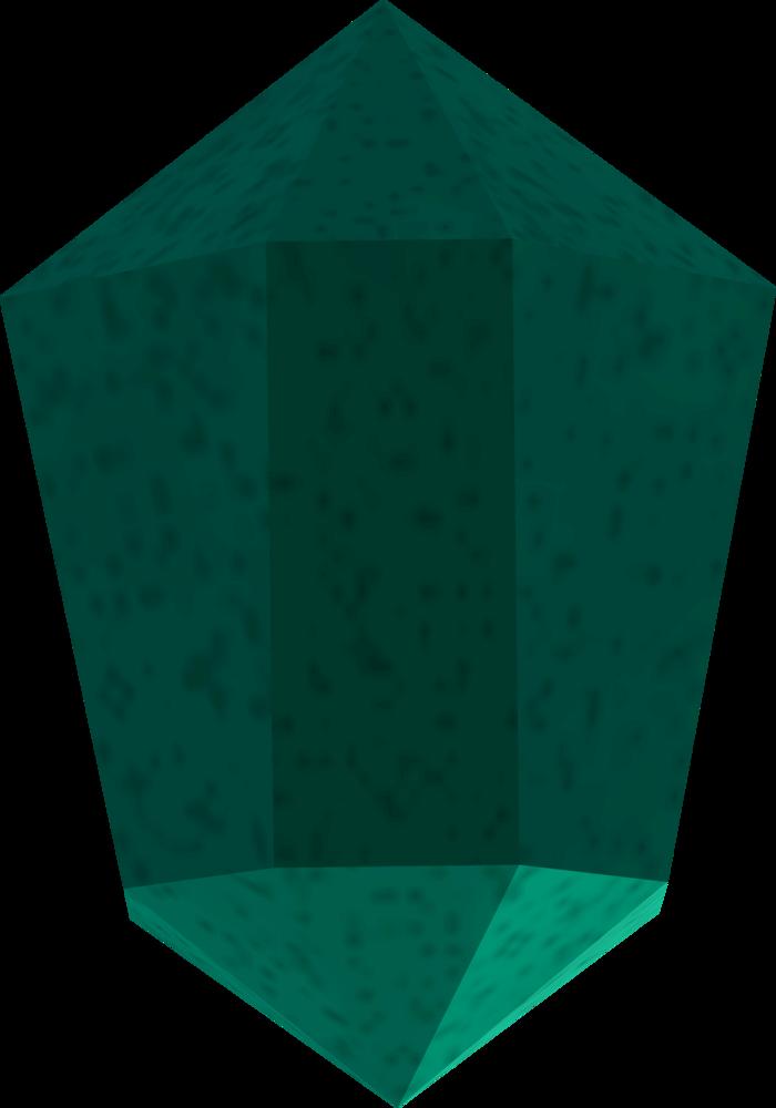 Meteorite chunk detail
