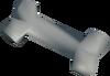 Polished unicorn bone detail