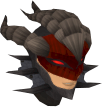 Royal dragonhide coif chathead