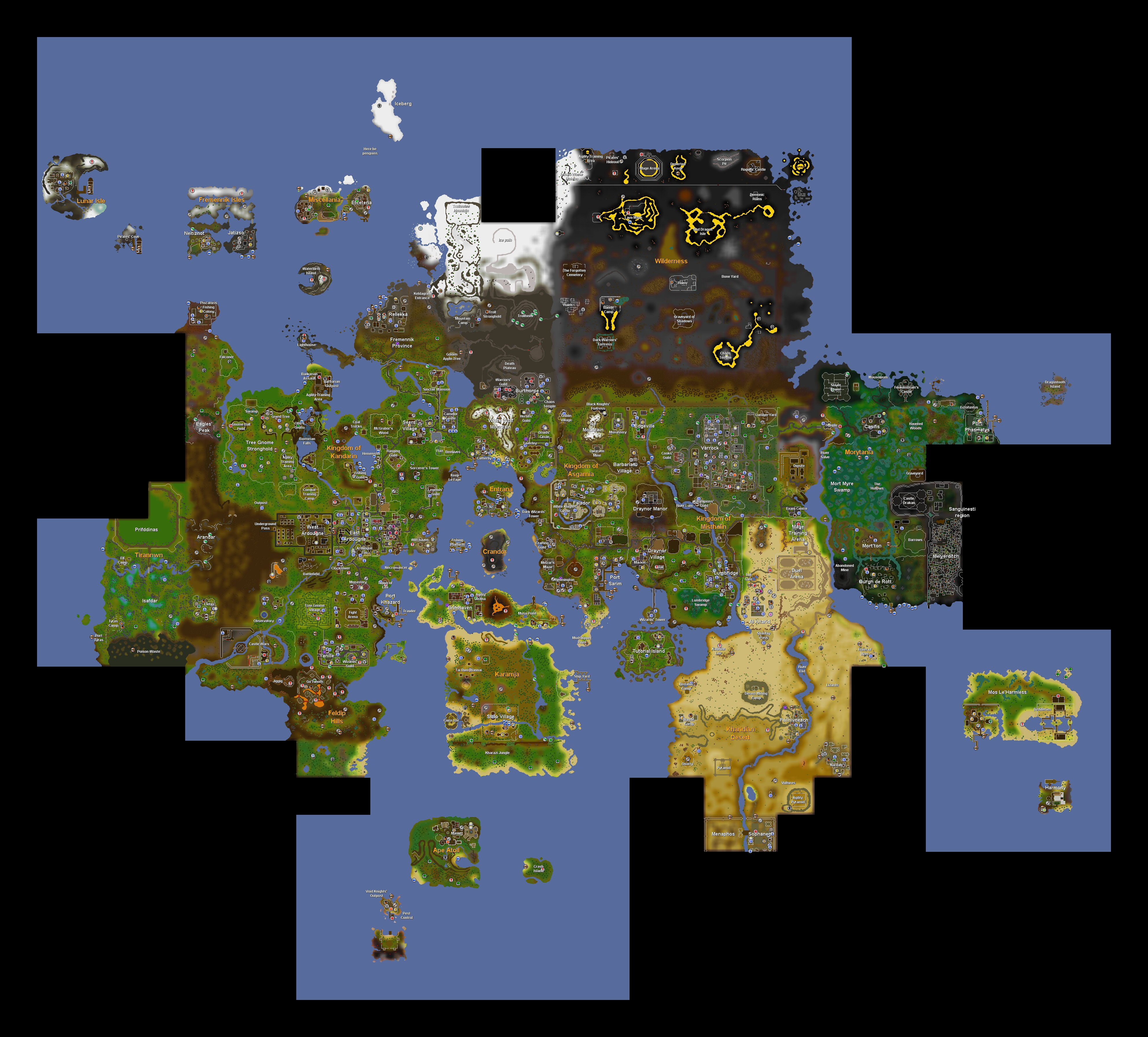 World maphistory runescape wiki fandom powered by wikia publicscrutiny Image collections