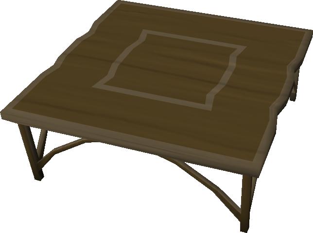 Teak Kitchen Table Runescape Wiki Fandom Powered By Wikia