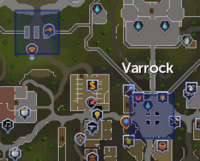 Varrock Teleport locations