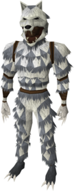 Werewolf outfit equipped (male)