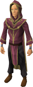 Wicked robes equipped