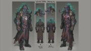 World Eater Armour concept art