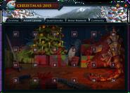 Christmas 2015 (Advent Calendar) interface
