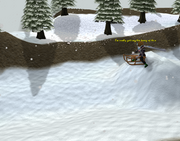 Descendo a Montanha Trollweiss
