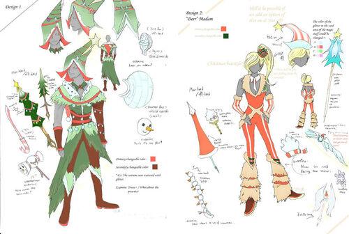 Design an Outfit - Albireo Emma