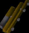 Fishing rod (o) detail