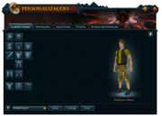 Interface de Personalizações