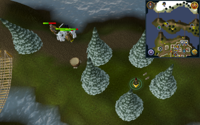 File:Scan clue Fremennik Isles inside ring of arctic pines on grassy island.png