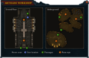 Artisans Workshop plan