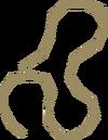 Corda de balestra detalhe