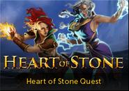 Heart of Stone lobby banner