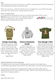 Jagex Store email
