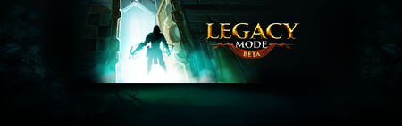 Legacy Mode Beta head banner