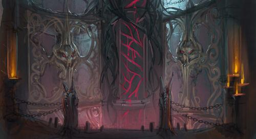 Lord of Vampyrium concept art 1