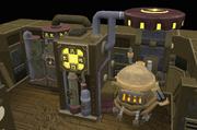 Máquina de drenagem cósmica