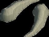 Sabre-like teeth