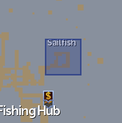 Sailfish (NPC) location
