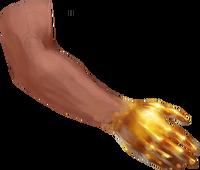 Samid's gloves concept art