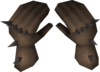 Spiked gauntlets detail