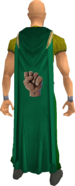 Strength cape equipped