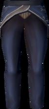 Tuxedo trousers detail