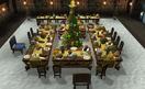 Banquet area food