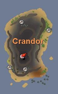 Crandor kaart