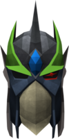 Full slayer helmet (green) detail