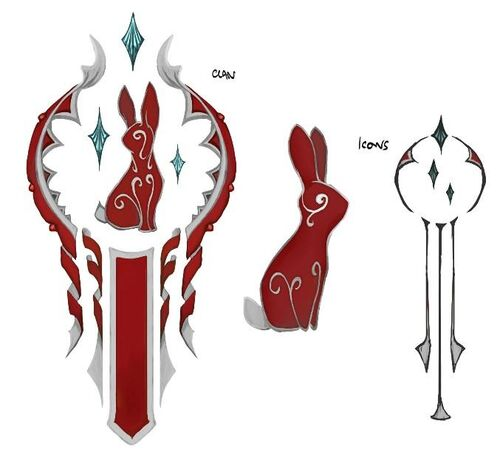 Hefin clan symbols concept art