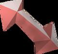 Hefin symbol piece detail