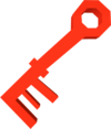 Key (red) detail