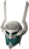 Máscara cerimonial antiga detalhe