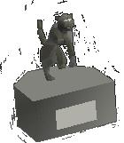 Medium statue (Bob)
