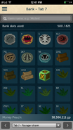 RuneScape Companion bank viewer