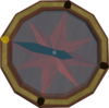 Strange compass detail