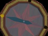 Strange compass