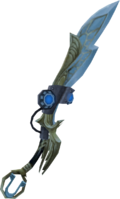 Augmented Armadyl godsword detail