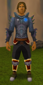 Augmented Refined Anima Core Body of Sliske equipped