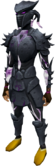 Sirenic armour set (shadow) equipped