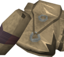 Spinoleather torn bag